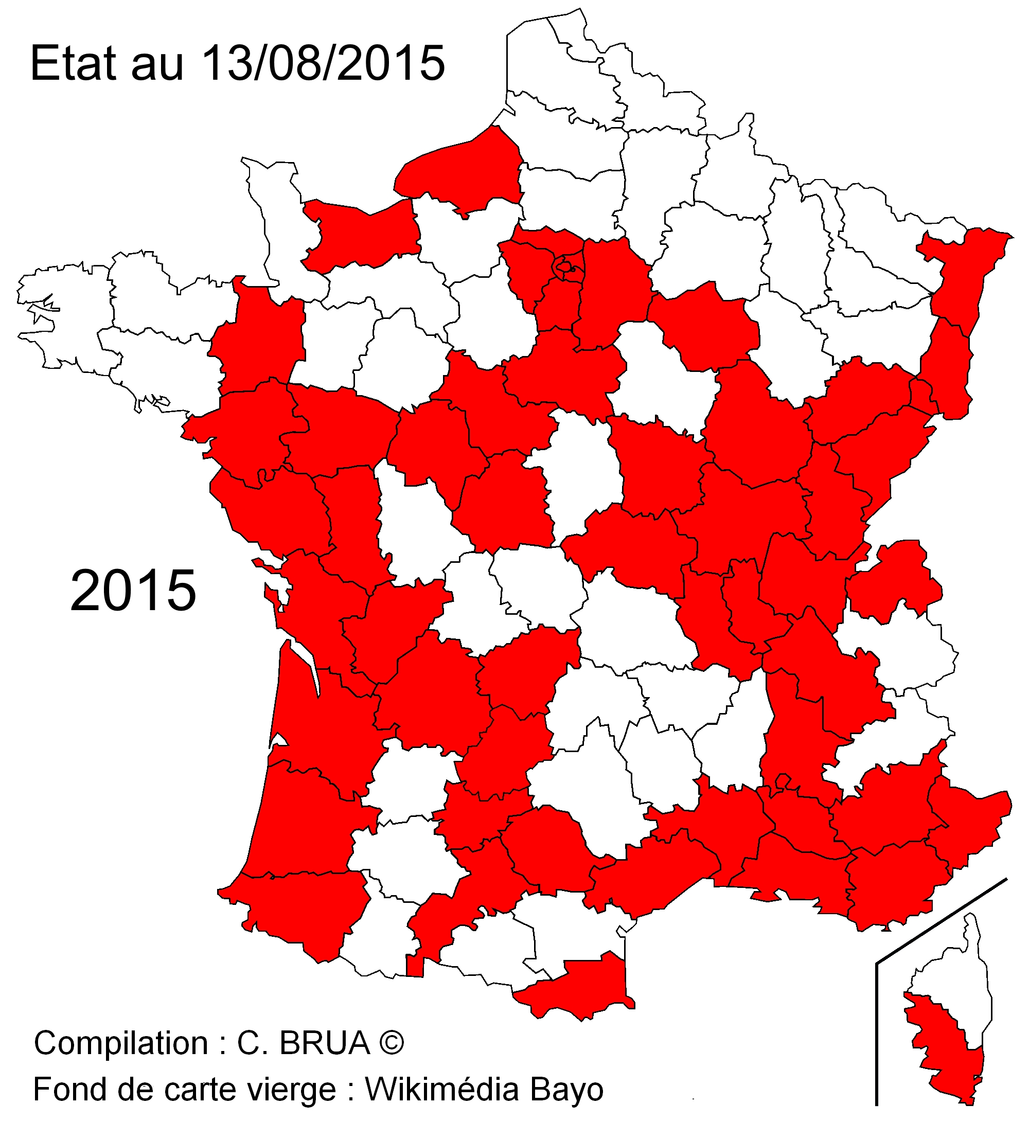 carte expansion France 2015